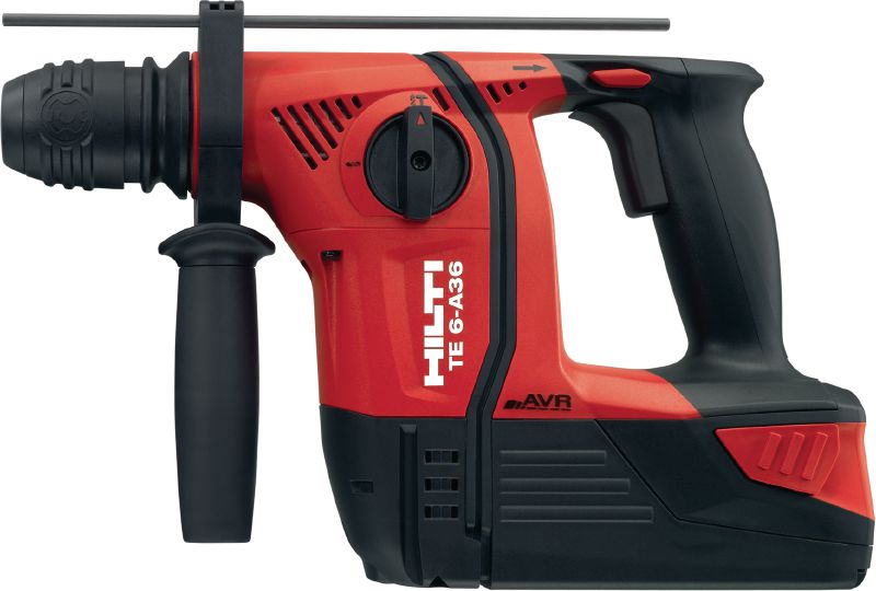 TE 6-A36-AVR 36V cordless rotary hammer with superior performance