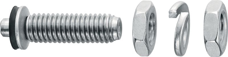 X-BT-ER Threaded stud for electrical connectors on steel in highly corrosive environments
