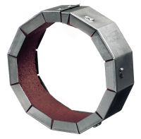 CP 644 firestop collars Retrofit firestop collar with a galvanized steel housing to help create a fire and smoke barrier around existing pipe penetrations
