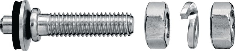 X-BT-ER Threaded studs (metric) Threaded stud for electrical connectors on steel in highly corrosive environments