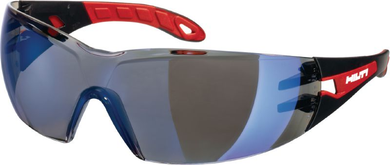 Safety glasses PP EY-GU B AF blue